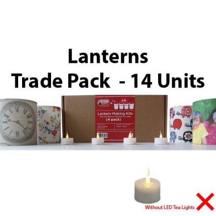 Lantern Making Kit  - 4 Pack  x 14 Units